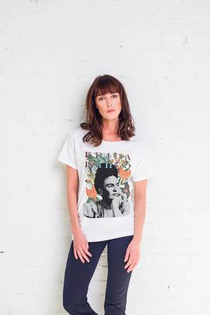 Frida exotic t shirt oversize