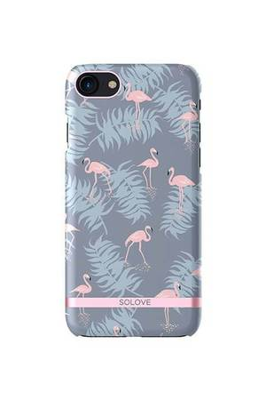 Creattack - Etui na iPhone 7 – Flamingo