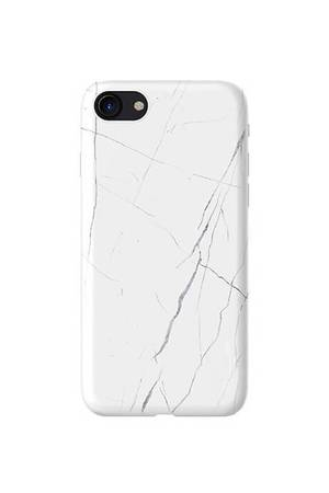 Etui na iphone white marble