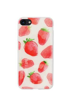 Creattack - Etui na iPhone 7 – Juicy Strawberry