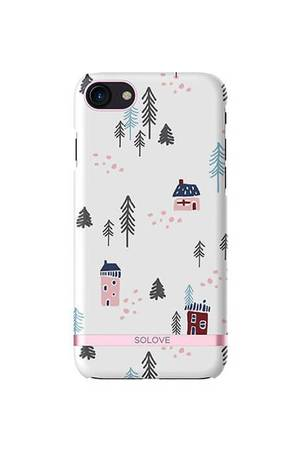 Etui na iphone 7 snow town