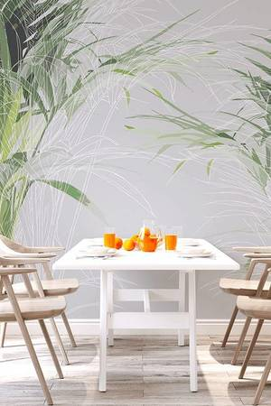 ONWALL - MURAL PALM 200cm x 200cm