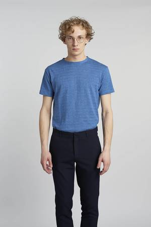 Delikatessen - COOL MID BLUE T-SHIRT