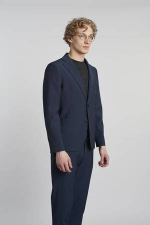 Delikatessen - NAVY BLUE-MARINE TROUSERS