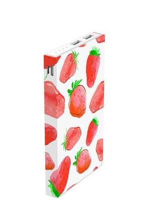 Creattack - Powerbank Pattern – Strawberry