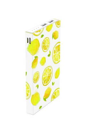 Creattack - Powerbank Pattern – Lemon