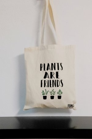 FUNfara - Torba PLANTS ARE FRIENDS