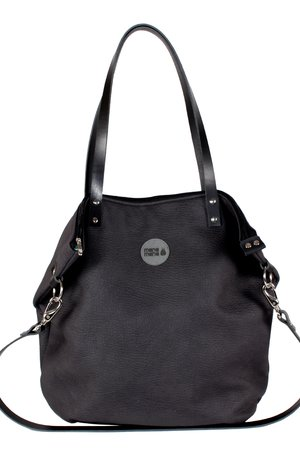 Torba worek simple black skin