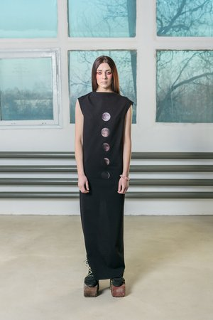 Moon phases dress