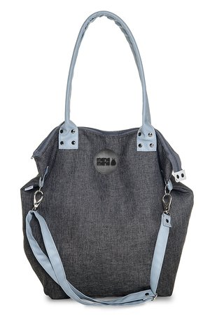 MANA MANA - TORBA WOREK CITY DENIM