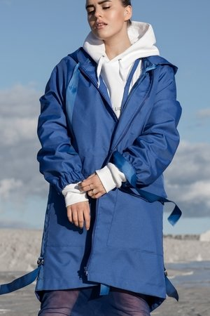 REST_FActory - Blue parka coat