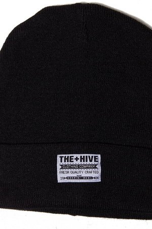 The Hive - CLASSIC BEANIE IN BLACK