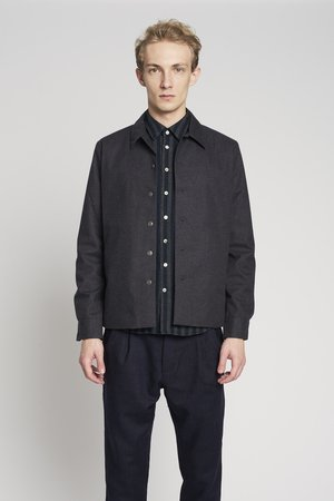 Dark grey winter jacket
