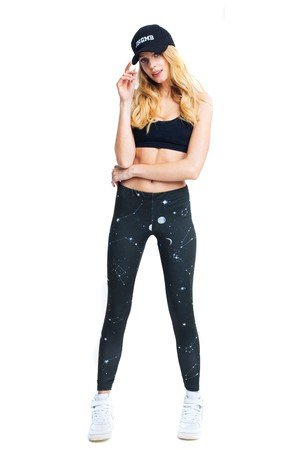 Fitness leggings galaxy