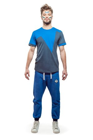 Orion t shirt blue