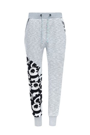 ZookiWear - Spodnie Loose Black&Gray Panda