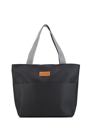Mili-tu - Torba typu shopper Mili City Bag - czarna