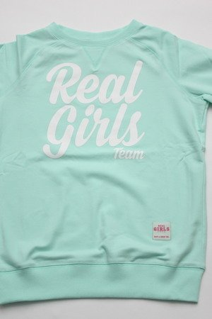 Bluza real girls team mint