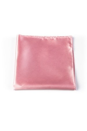 r3s men's accessories - POSZETKA JEDWABNA PINK SILK