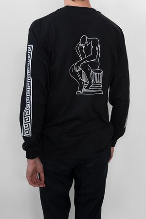 Philosophy longsleeve black