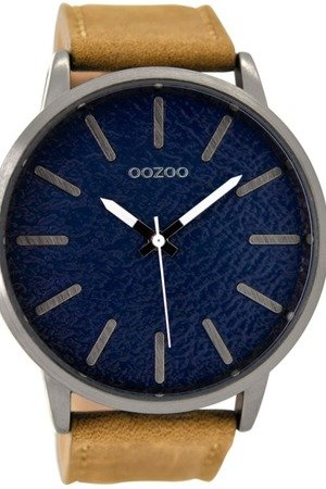 Zegarek oozoo c9026 brown blue