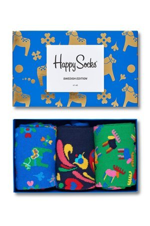 HAPPY SOCKS - Swedish Edition Gift Box Happy Socks (3-pak) XSWE08-6000