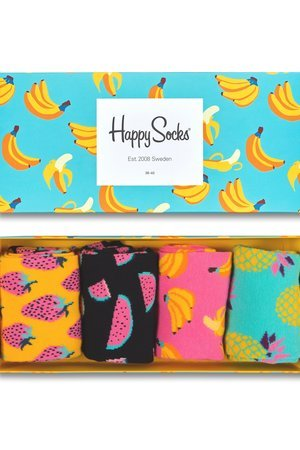 HAPPY SOCKS - Giftbox (4-pak) skarpetki Happy Socks XPOP09-3000