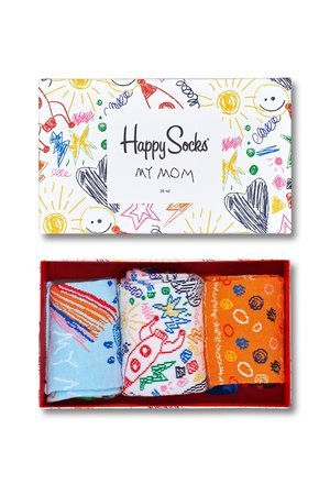 HAPPY SOCKS - Gitfbox (3-pak) Happy Socks Mother's day XMOT08-2000