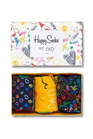 Giftbox 3 pak happy socks father s day xfat08 2000