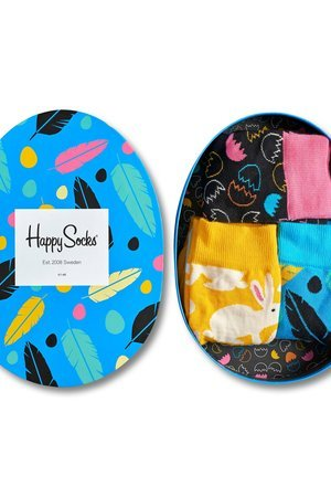 Giftbox 3 pak skarpetki happy socks xeas08 9000