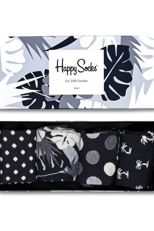 HAPPY SOCKS - Giftbox (4-pak) skarpetki Happy Socks XBLW09-9002