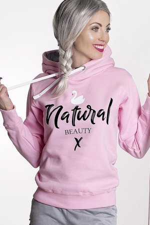 ŁAP NAS - Bluza Natural Beauty Róż!