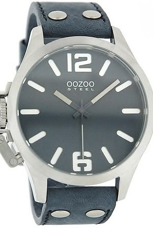 Zegarek oozoo steel os059 black white