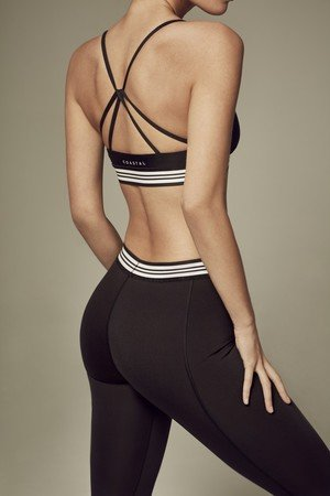 COASTAL Swimwear & Activewear - LIV TOP BLACK