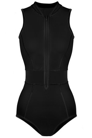 Mary surf suit black