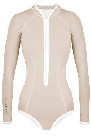 Mary ann surf suit beige