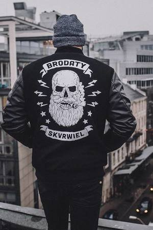 The Urban Beard - Baseball Jacket / Bejzbolowka Brodaty Skvrwiel