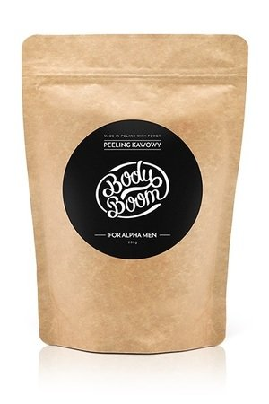 BodyBoom - For Alpha Men - Peeling Kawowy - Coffee Scrub - BodyBoom