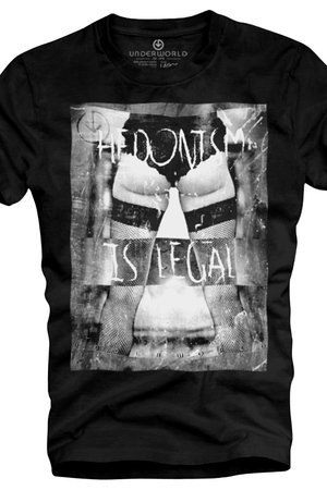 T shirt underworld organic cotton hedonism