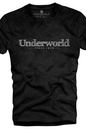 T shirt underworld organic cotton since 1979