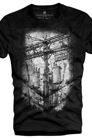 Underworld - T-shirt UNDERWORLD Ring spun cotton Danger