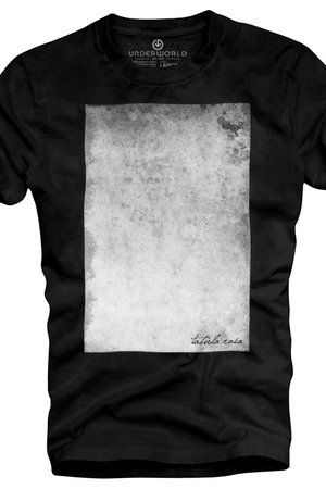 Underworld - T-shirt UNDERWORLD Ring spun cotton Tabula rasa