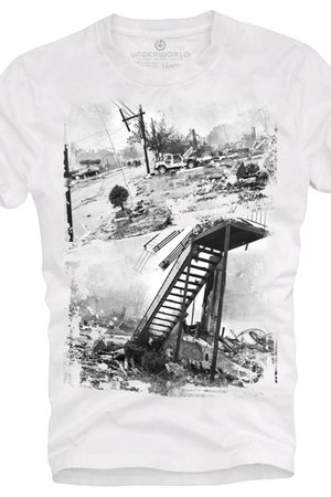 T shirt underworld ring spun cotton hurricane