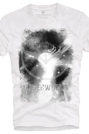 T shirt underworld ring spun cotton space