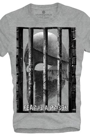 T shirt underworld ring spun cotton prison