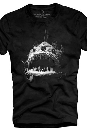 Underworld - T-shirt UNDERWORLD Ring spun cotton Fish