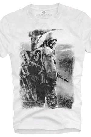 Underworld - T-shirt UNDERWORLD Ring spun cotton Soldier