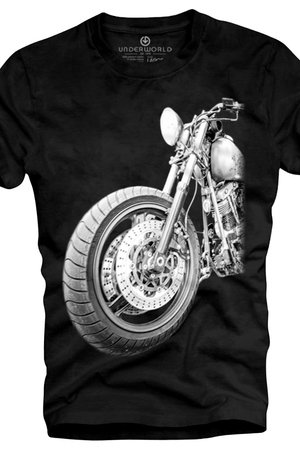 T shirt underworld ring spun cotton motor
