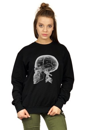 Bluza underworld casual x ray skull