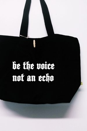 "FUNfara - Torba ""Be the voice, not an echo"""